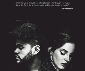 lana del rey, the weeknd, and music image