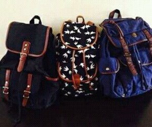 mochila, escuela, and bolsos image