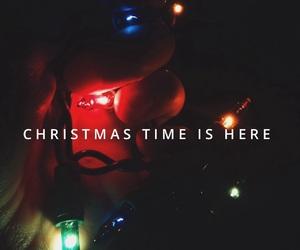 christmas, cold, and easel image