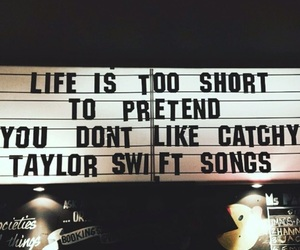 Taylor Swift, quotes, and song image