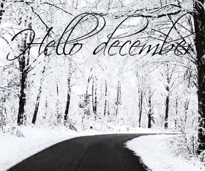 december, winter, and hello december image