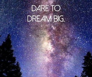 Dream, quotes, and stars image