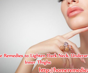 home remedies, underarms, and neck image
