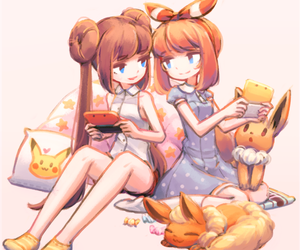 anime, illustration, and flareon image