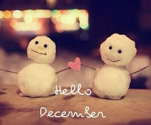 christmas, snow, and dezember image