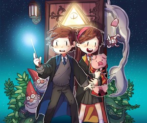 harry potter and gravity falls image