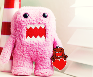 pink and domo image