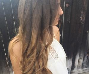 blonde, brown, and brunette image