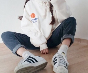 fashion, adidas, and clothes image