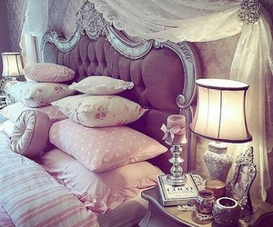 beautiful, bedroom, and rooms image