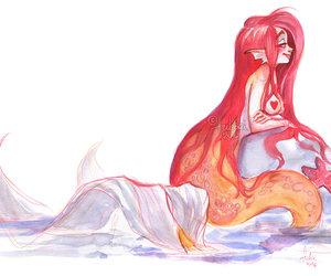 art, drawing, and fukari image
