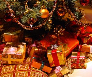 christmas, presents, and gift image