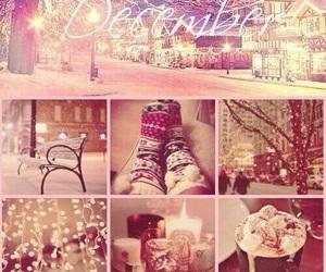 christmas, hello, and Collage image