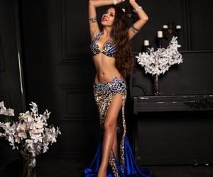 beautiful, blue, and dancing image