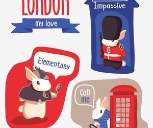 bunny, london, and rabbit image