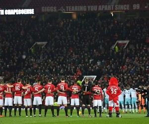 football, manchester, and united image