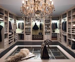luxury, closet, and home image