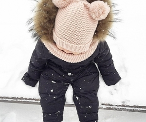 baby, fashion, and winter image