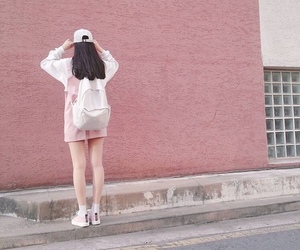 clothes, kfashion, and pink image