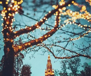 christmas, lights, and beautiful image