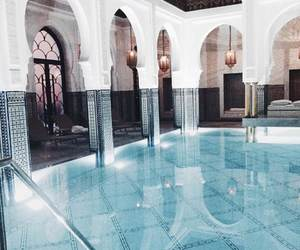 marrakech, pool, and bianca ingrosso image