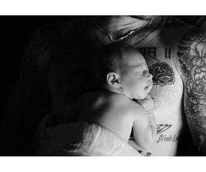 baby, adam levine, and Behati Prinsloo image
