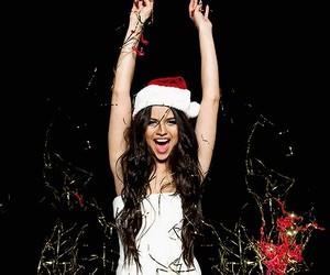 selena gomez, christmas, and selena image