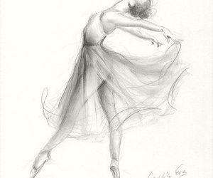 dance, drawing, and draw image