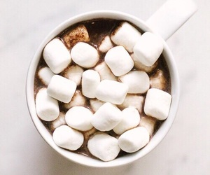 food, marshmallow, and chocolate image