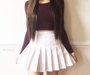 fashion, clothing, and skirt image