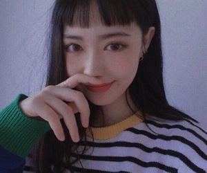 girl, 한국, and korea image