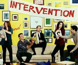 himym, how i met your mother, and intervention image