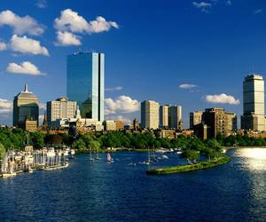 boston, city, and summer image