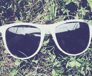 floral and sunglasses image
