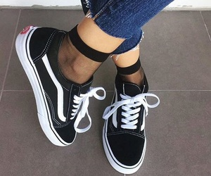 classic, socks, and vans image