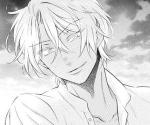 vanitas no carte, black and white, and manga image