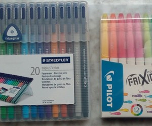 pens, rotuladores, and school image