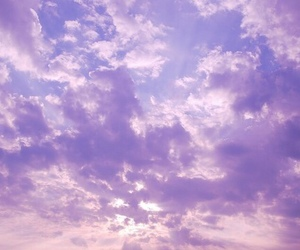 sky, lilac, and purple image