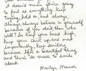 quotes, Marilyn Monroe, and life image