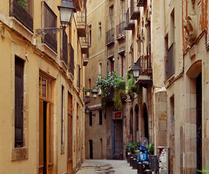Barcelona, spain, and place image
