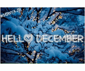 cold, hello december, and hello image