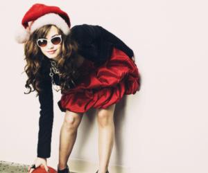 demi lovato and christmas image