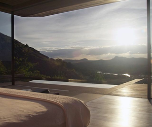 view, nature, and bedroom image
