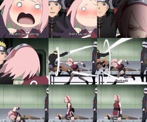 anime, naruto uzumaki, and sakura haruno image