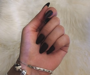 charms, fur, and nails image