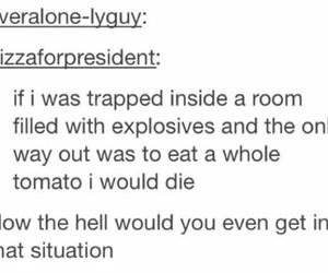 funny, tomato, and tumblr image