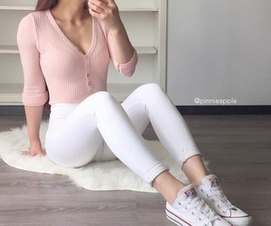 fashion, sporty, and style image