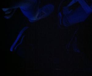 blue, light, and lights image