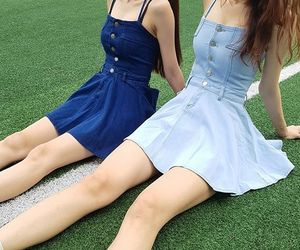 clothes, k-pop, and kfashion image