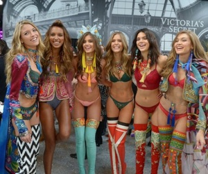 chic, models, and Victoria's Secret image